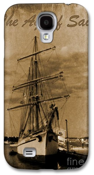 Age Of Sail Poster Galaxy S4 Case by John Malone Halifax photographer