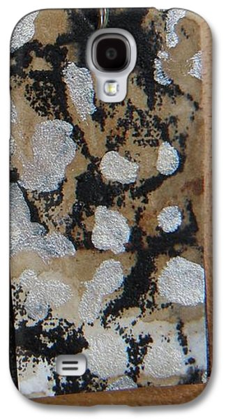 Aged Paper Rectangle Earrings 1 Galaxy S4 Case by M Brandl