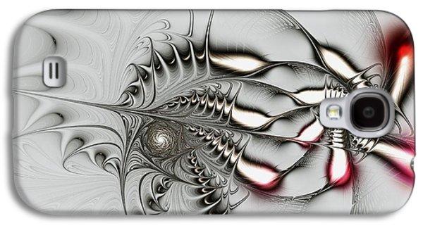 Aggressive Grey Galaxy S4 Case by Anastasiya Malakhova