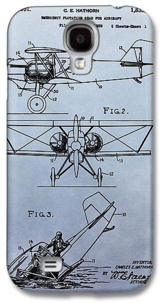 Aircraft Emergency Gear Galaxy S4 Case by Dan Sproul