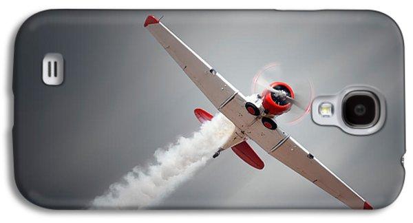 Aircraft In Flight Galaxy S4 Case by Johan Swanepoel