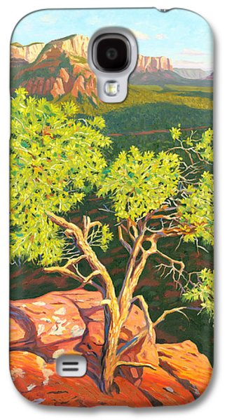 Airport Mesa Vortex - Sedona Galaxy S4 Case by Steve Simon