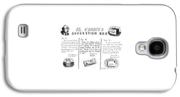 Al D'amato's Suggestion Box Galaxy S4 Case