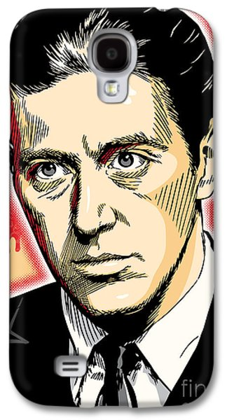 Al Pacino As Michael Corleone Pop Art Galaxy S4 Case