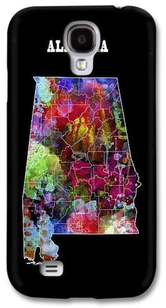 Alabama State Galaxy S4 Case by Daniel Hagerman