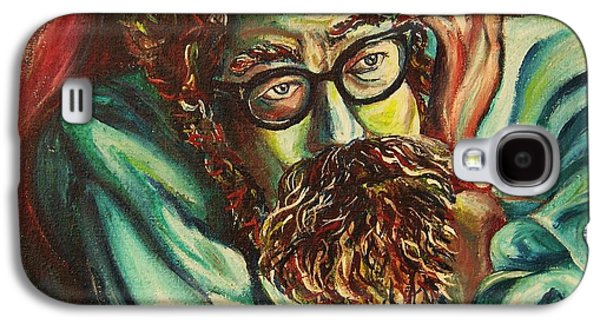 Alan Ginsberg Poet Philosopher Galaxy S4 Case by Carole Spandau