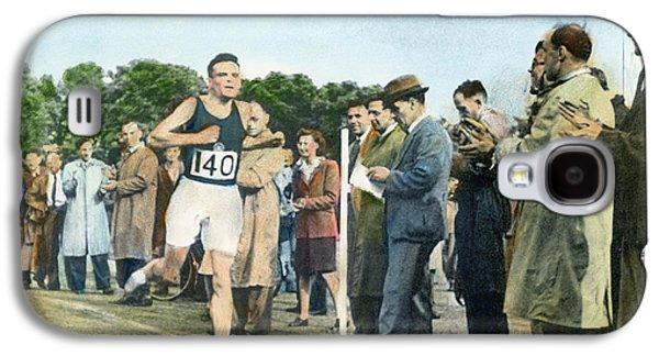 Alan Mathison Turing (1912-1954) Galaxy S4 Case by Granger