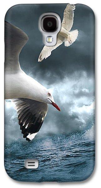 Albatross Galaxy S4 Case by Linda Lees