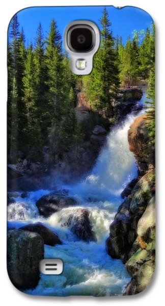 Alberta Falls In Rocky Mountain National Park Galaxy S4 Case by Dan Sproul
