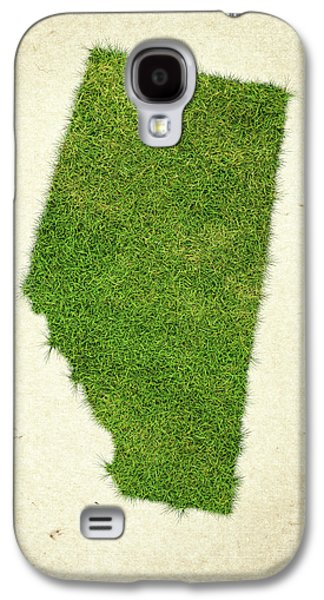 Alberta Grass Map Galaxy S4 Case by Aged Pixel