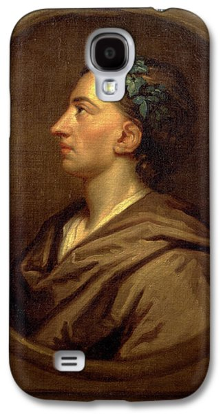 Alexander Pope Profile, Crowned With Ivy Galaxy S4 Case