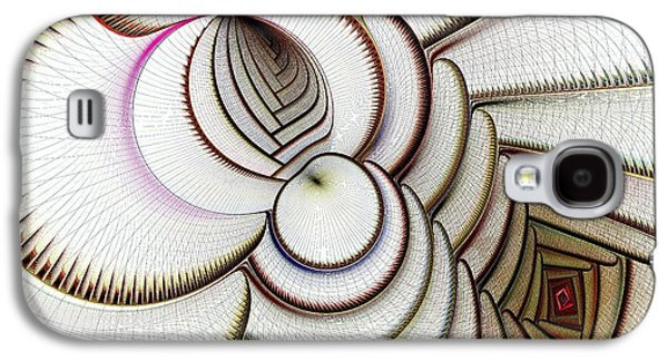 Algorithmic Art Galaxy S4 Case