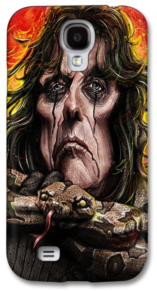 Alice Cooper Galaxy S4 Case by Andre Koekemoer