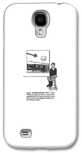 Alice Steddemminger With Stig Disparate Imagery Galaxy S4 Case
