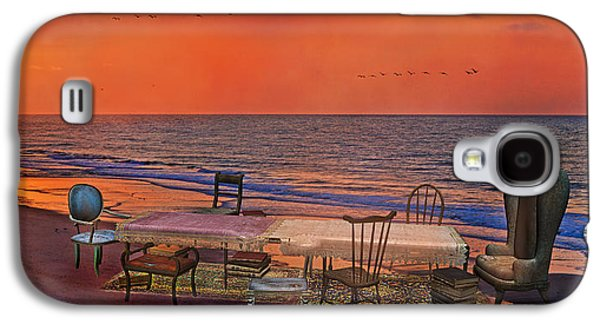 Alice's Topsail Island Tea Galaxy S4 Case by Betsy Knapp