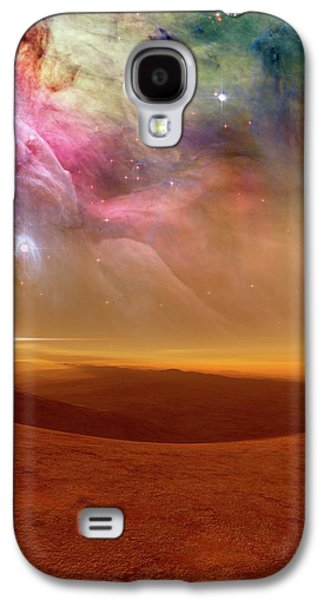 Alien Planet Forming In Orion Galaxy S4 Case