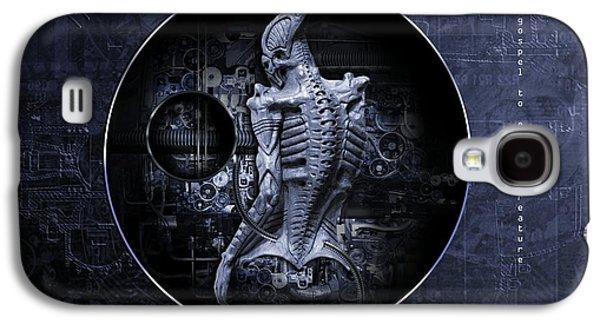 Aliens Needs Also Jesus Galaxy S4 Case