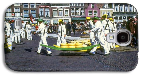 Alkmaar Cheese Market Galaxy S4 Case by Bob Phillips