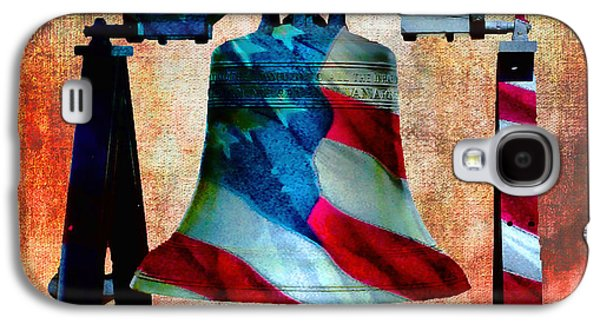Liberty Bell Art Smooth All American Series Galaxy S4 Case