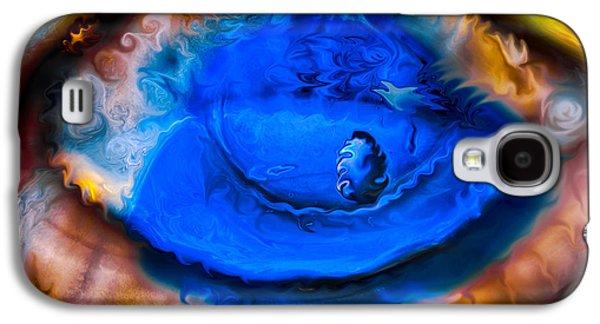 All Seeing Eye Galaxy S4 Case by Omaste Witkowski
