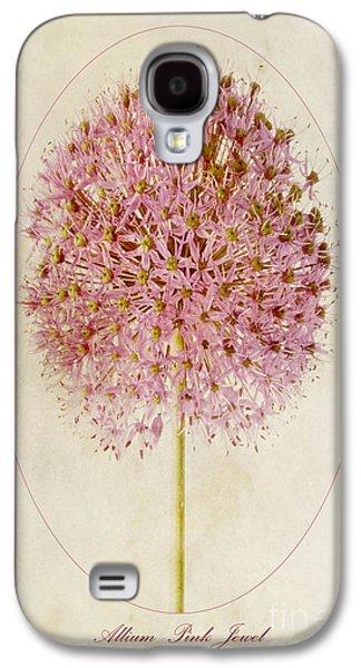 Allium Pink Jewel Galaxy S4 Case by John Edwards