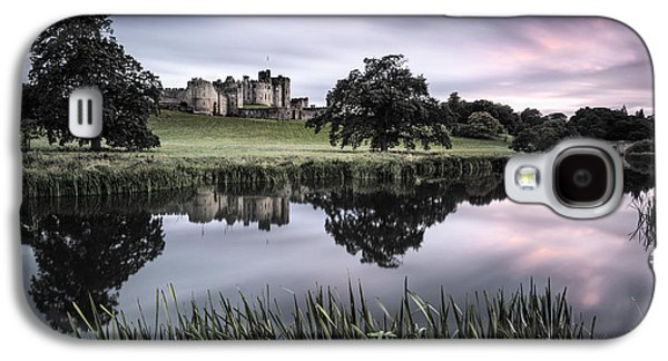 Alnwick Castle Sunset Galaxy S4 Case by Dave Bowman