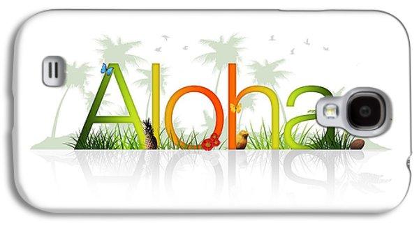 Aloha - Hawaii Galaxy S4 Case