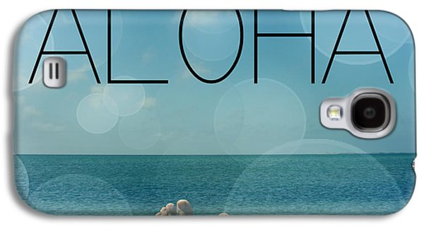 Aloha  Galaxy S4 Case by Mark Ashkenazi