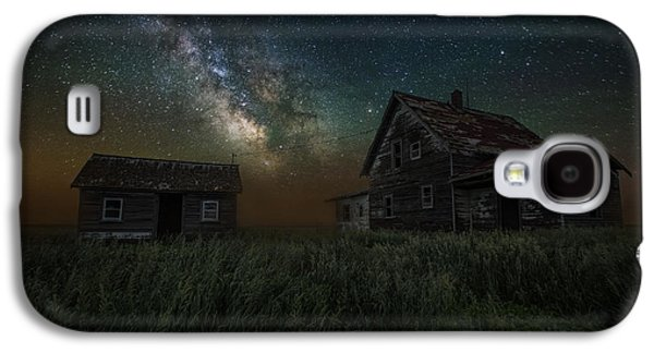 Alone In The Dark Galaxy S4 Case by Aaron J Groen