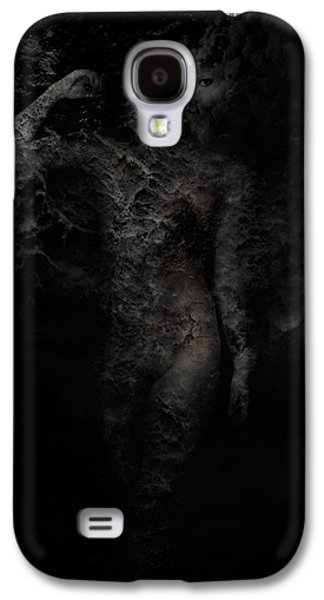 Alone With Her Thoughts Galaxy S4 Case by David Fox