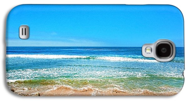 Along The Rincon California Surf Spot From The Book My Ocean Galaxy S4 Case by Artist and Photographer Laura Wrede