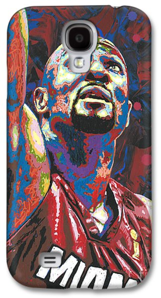 Alonzo Mourning Galaxy S4 Case by Maria Arango
