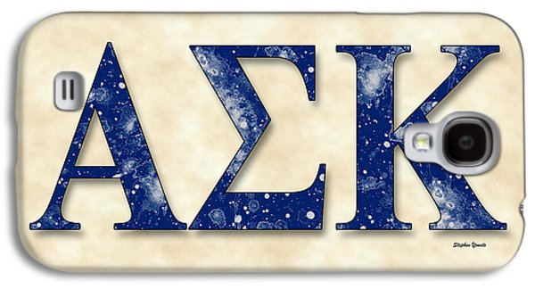 Alpha Sigma Kappa - Parchment Galaxy S4 Case by Stephen Younts