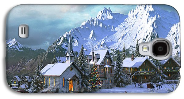 Alpine Christmas Galaxy S4 Case