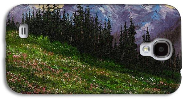 Alpine Meadow Galaxy S4 Case by C Steele