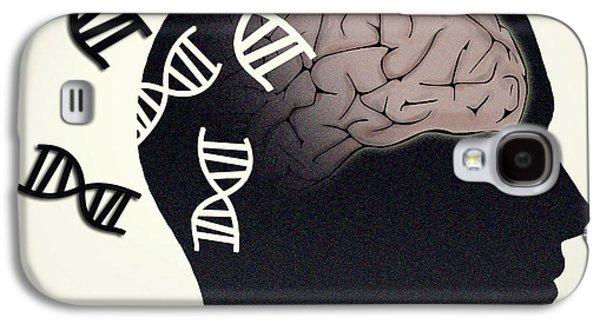 Alzheimers Disease, Genetics Research Galaxy S4 Case