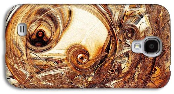 Amber Magic Galaxy S4 Case by Anastasiya Malakhova