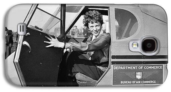 Airplane Galaxy S4 Case - Amelia Earhart - 1936 by Daniel Hagerman