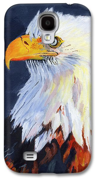 American Bald Eagle Galaxy S4 Case by Mike Lester