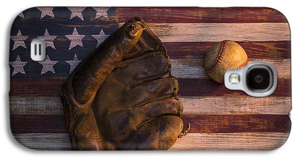 American Baseball Galaxy S4 Case by Garry Gay