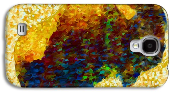 American Bison Galaxy S4 Case by Jack Zulli