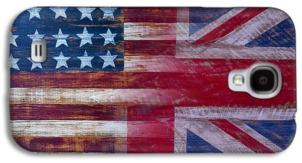 American British Flag Galaxy S4 Case