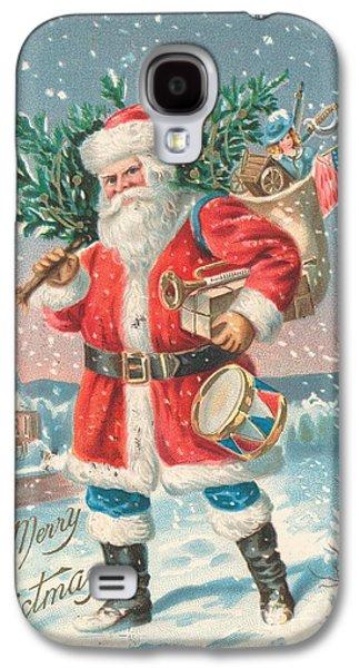 American Christmas Card Galaxy S4 Case