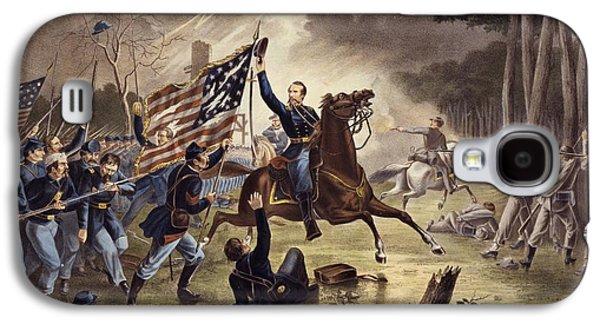 American Civil War General   Philip Kearny Galaxy S4 Case by American School