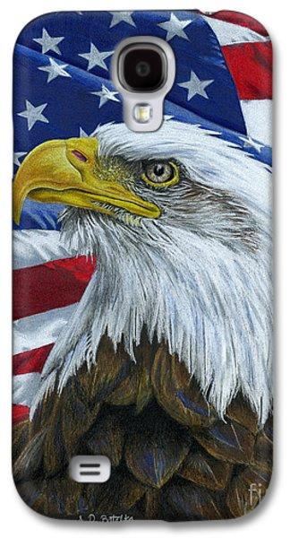 American Eagle Galaxy S4 Case by Sarah Batalka