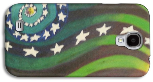American Flag Reprise Galaxy S4 Case