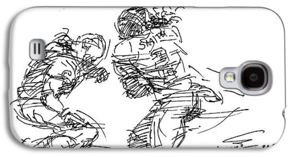 American Football 1 Galaxy S4 Case