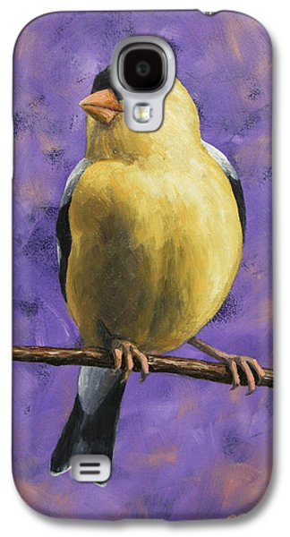 Finch Galaxy S4 Case - American Goldfinch by Crista Forest