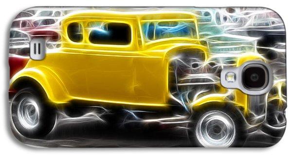 American Grafitti Coupe Galaxy S4 Case by Steve McKinzie