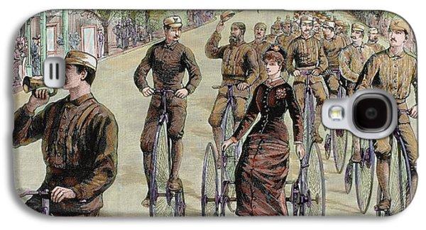 American League Cycles In Pennsylvania Galaxy S4 Case by Prisma Archivo